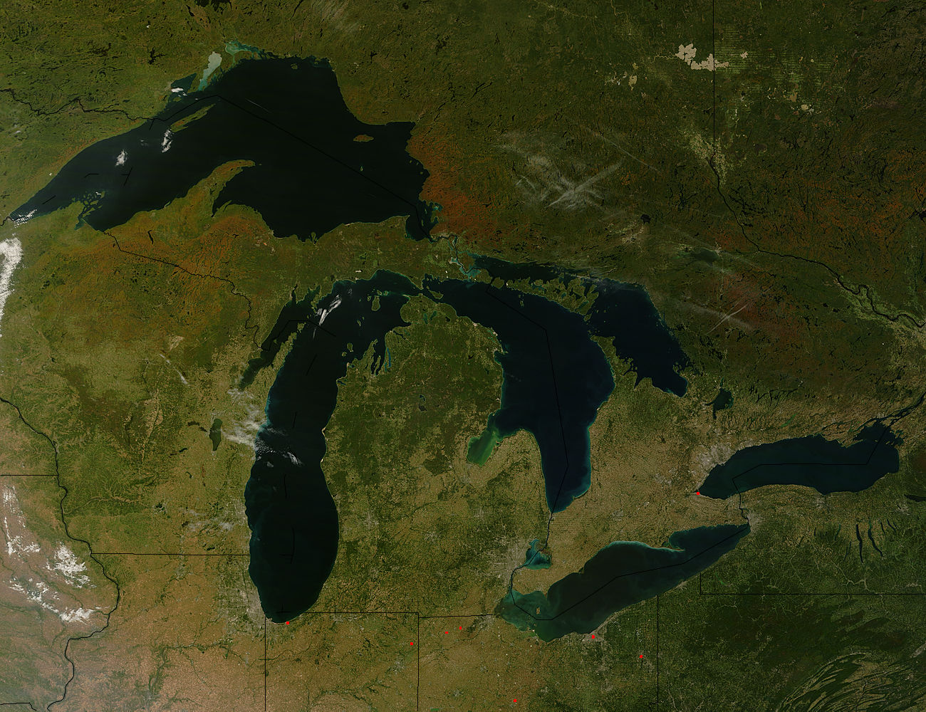 issues of great lakes pollution Pollution affects water quality in lakes and other freshwater resources around the  toxic contaminants in the great lakes (2000, september, 27) retrieved.