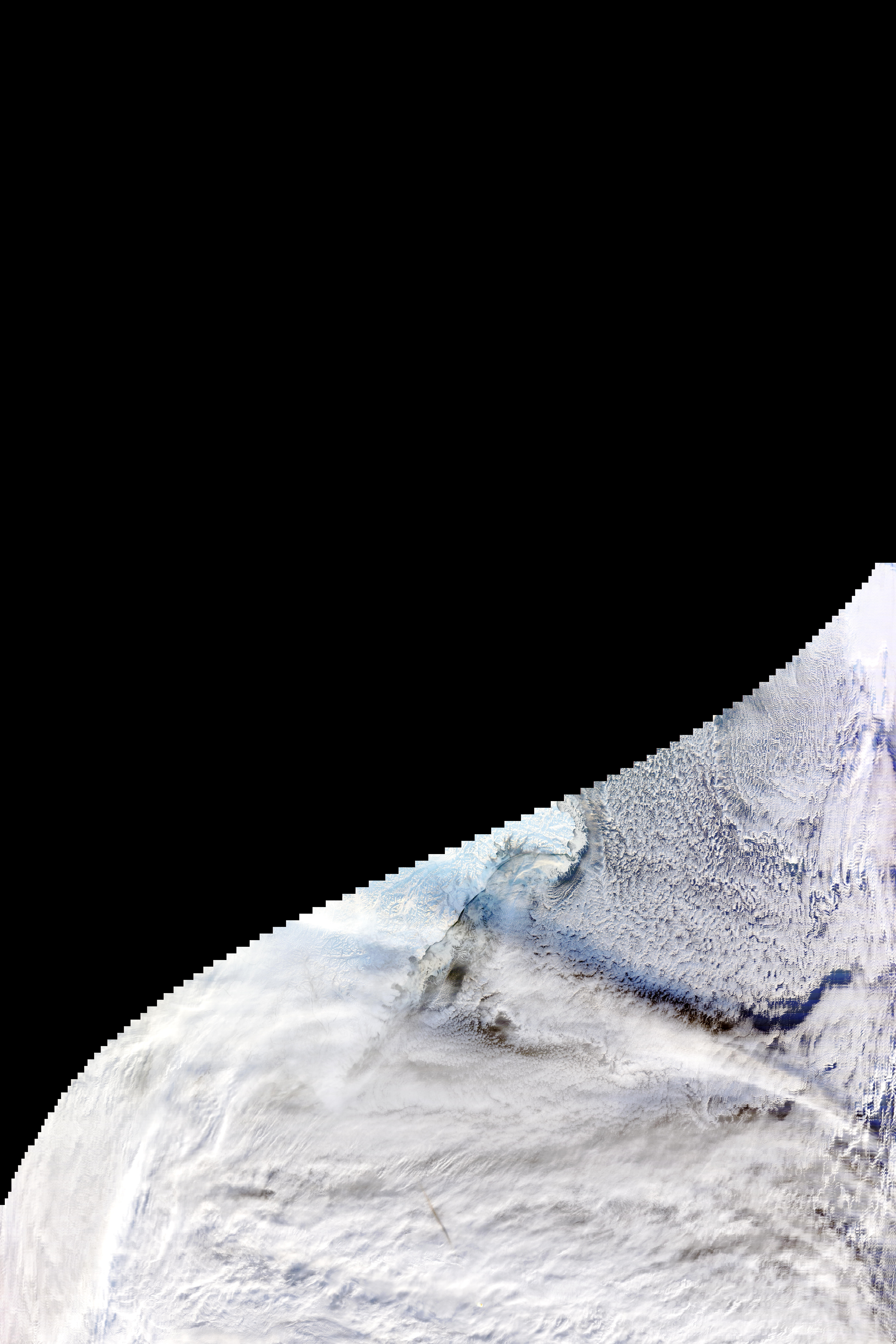 Image of Terra/MODIS 2018/352 23:50 UTC, Bands 1-4-3 (true color), Pixel size 250m